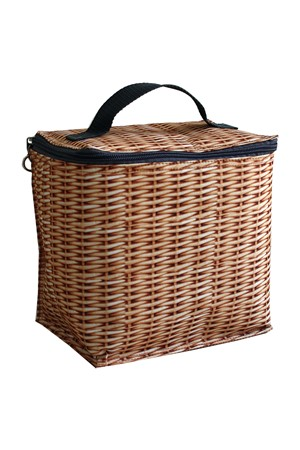 Basket cooler bag
