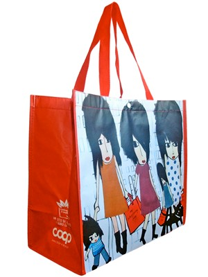 Shopping bag In PET riciclato