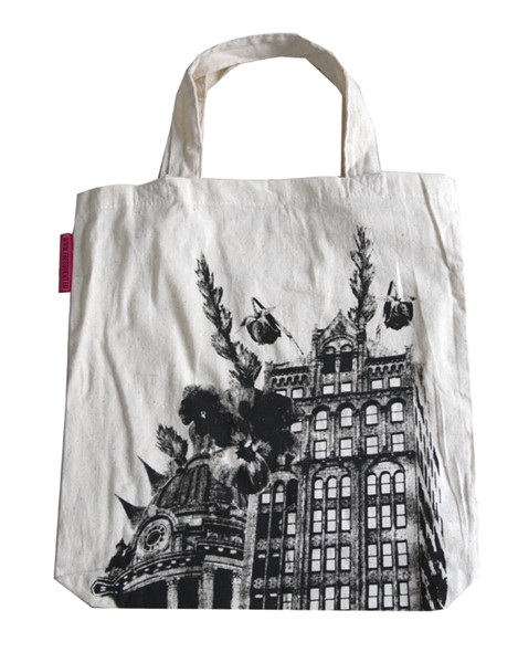 Shopping bag in cotone Frequent