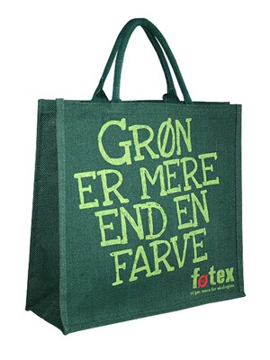 Shopping Bag in Juta Foetex
