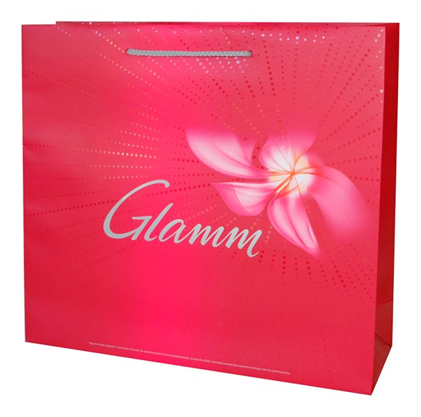 Glamm paper bag with print
