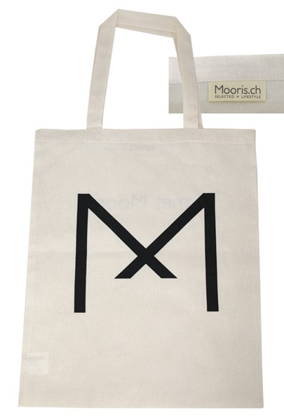 Mooris shopping bag in cotone Fairtrade