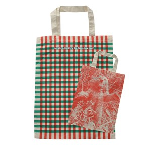 Meener Janssen shopping bag in cotone
