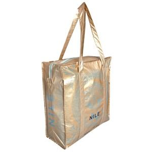 SHOPPING BAG con cerniera NILE in PET Riciclato