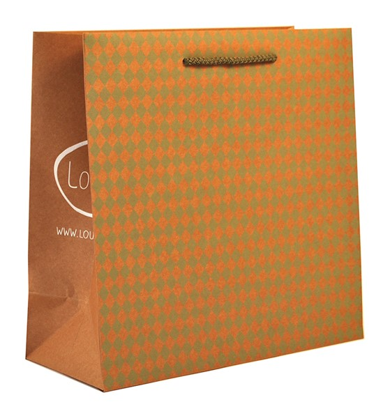 Lou & Co luxury Craft paper bag